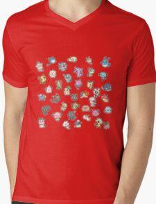 Pokemon Pic & Mix Mens V-Neck T-Shirt