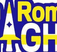 San Romero Knights With Purple Outline Sticker