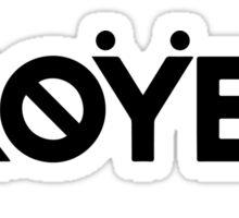 Troyboi Sticker
