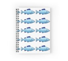 Under the Sea Fish Spiral Notebook