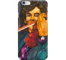 Sherlock and the Violin iPhone Case/Skin