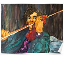 Sherlock and the Violin Poster