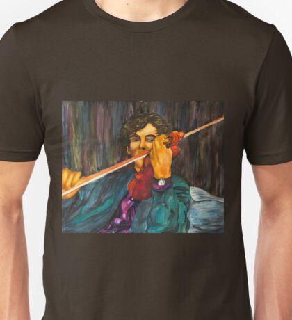 Sherlock and the Violin Unisex T-Shirt