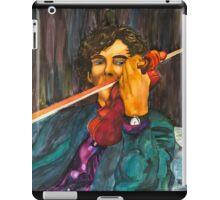 Sherlock and the Violin iPad Case/Skin