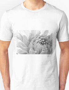 Dahlia Petals - Digital Pastel Art Work  Unisex T-Shirt