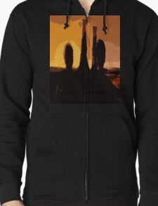 Doctor Who 12th Doctor and River Singing Towers T-Shirt
