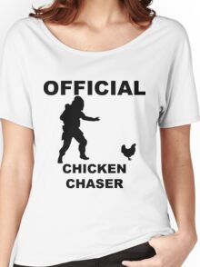 Chicken Chasher Women's Relaxed Fit T-Shirt