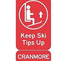 Ski Tips Up! It's time to ski! Cranmore!   by IntWanderer