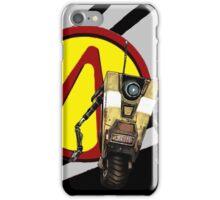 Borderlands CL4P-TP Claptrap and Pandora vault logo iPhone Case/Skin