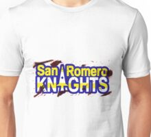 Bloody San Romero Knights With Purple Outline Unisex T-Shirt