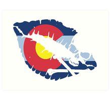 colorado kiss Art Print