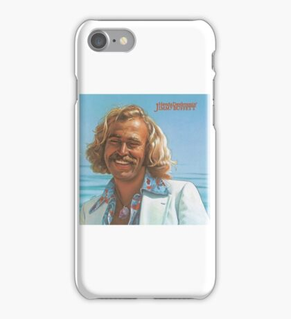 Young Jimmy Buffett iPhone Case/Skin