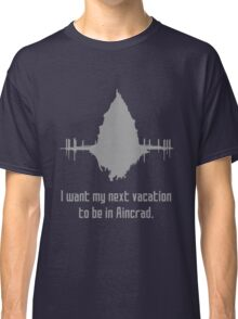 Vacation in Aincrad Classic T-Shirt