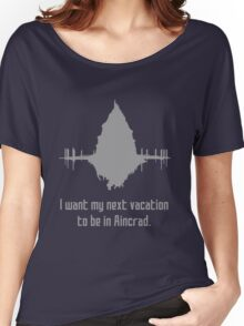 Vacation in Aincrad Women's Relaxed Fit T-Shirt