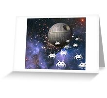 Star Invaders Greeting Card