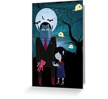 Marceline's dad Greeting Card