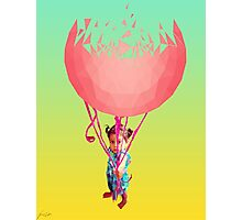 Balloon Girl Photographic Print