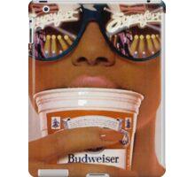 Old school Budweiser  iPad Case/Skin