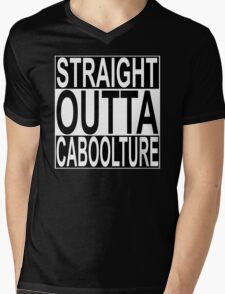 Straight Outta Caboolture Mens V-Neck T-Shirt