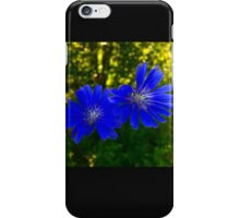 The Blue flowers. iPhone Case/Skin