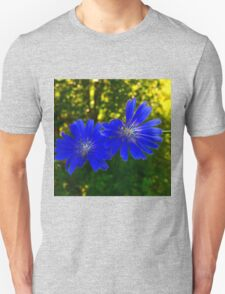 The Blue flowers. T-Shirt