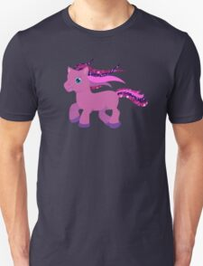 glitter purple pony Unisex T-Shirt