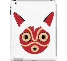 Princess Mononoke Mask  iPad Case/Skin