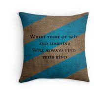 Ravenclaws, unite! Throw Pillow