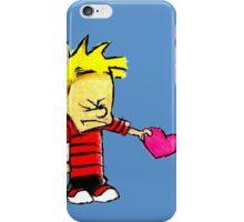 Calvin Hobbes Love iPhone Case/Skin