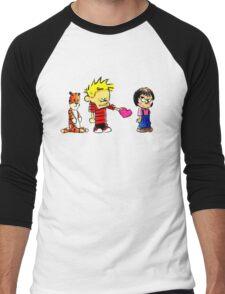 Calvin Hobbes Love Men's Baseball ¾ T-Shirt