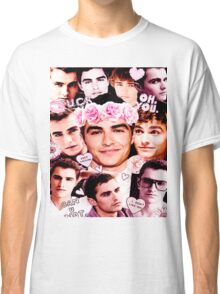 Dave Franco Pink Collage  Classic T-Shirt