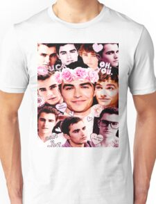 Dave Franco Pink Collage  Unisex T-Shirt