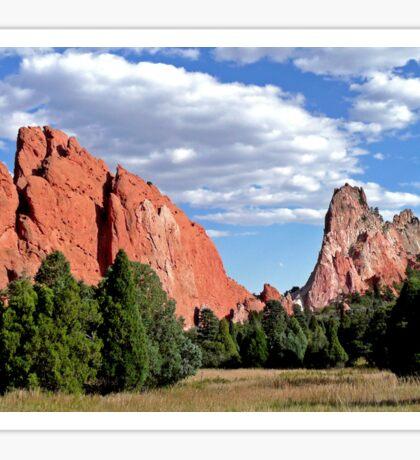 Garden of the Gods, Colorado, USA (2) Sticker