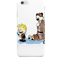 Calvin & Hobbes Wars iPhone Case/Skin