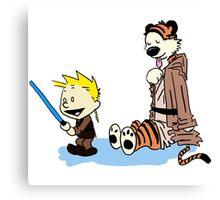 Calvin & Hobbes Wars Canvas Print