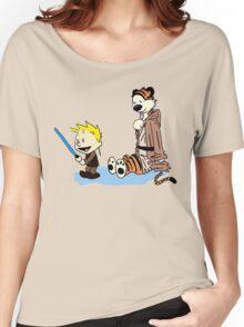 Calvin & Hobbes Wars Women's Relaxed Fit T-Shirt