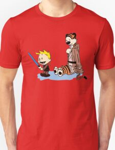 Calvin & Hobbes Wars Unisex T-Shirt