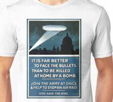 Vintage World War II Army Recruitment Unisex T-Shirt