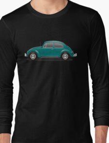 1967 Volkswagen Beetle Sedan - Java Green Long Sleeve T-Shirt