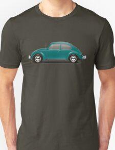 1967 Volkswagen Beetle Sedan - Java Green Unisex T-Shirt