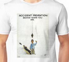 Vintage World War II Safety Unisex T-Shirt