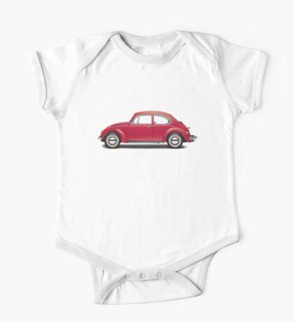 1968 Volkswagen Beetle Sedan - Royal Red One Piece - Short Sleeve
