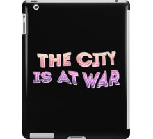 The City is at War iPad Case/Skin