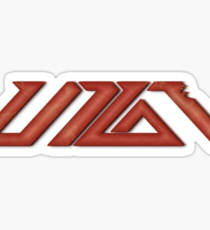 UP10TION Logo Red Sticker