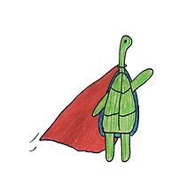 Super Turtle To The Rescue Photographic Print
