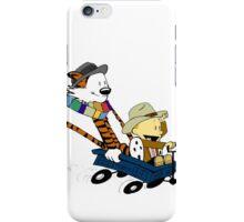Calvin Hobbes Doctor Who iPhone Case/Skin
