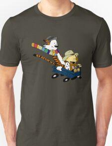 Calvin Hobbes Doctor Who T-Shirt
