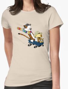 Calvin Hobbes Doctor Who Womens T-Shirt