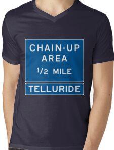Chain Up! - Telluride Mens V-Neck T-Shirt