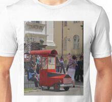 Popcorn salesman Unisex T-Shirt